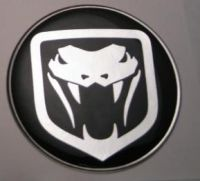 50mm VIPER NEW STYLE 3D Decal sticker for Dodge