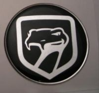 50mm Viper Old Style 3D Decal sticker for Dodge