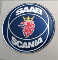 50mm SAAB SCANIA 3D Decal