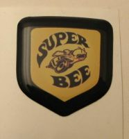 Dodge Charger 2006 -2010 - Steering Wheel Badge 3D Decal sticker Super Bee Yellow/Black