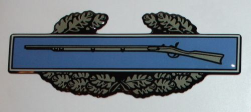 Combat Infantry badge 3d decal