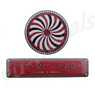 Spartan King shield and Red MOLON LABE