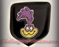 Nose 3D Decal badge – Full Colored with Road Runner - For the 2008 and Up  Dodge Challenger